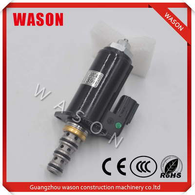 China Metal NBR Kobelco Spare Parts Caterpillar Excavator Swing Motor Solenoid Valve 1163526 supplier