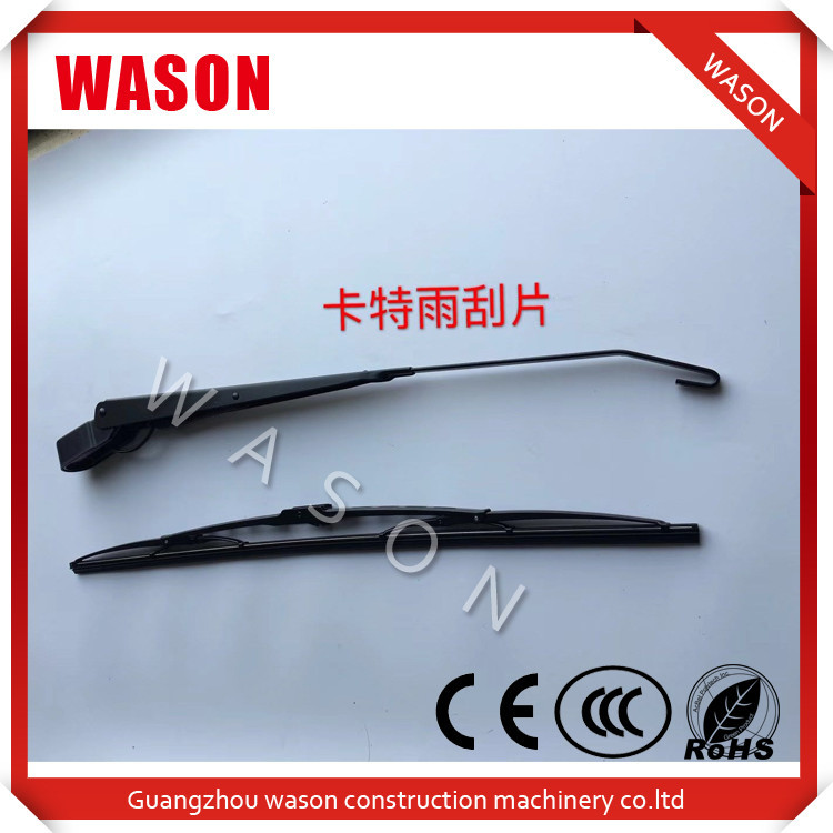Excavator Spare Parts Wiper Blade Screenwiper Windshield Wipers For