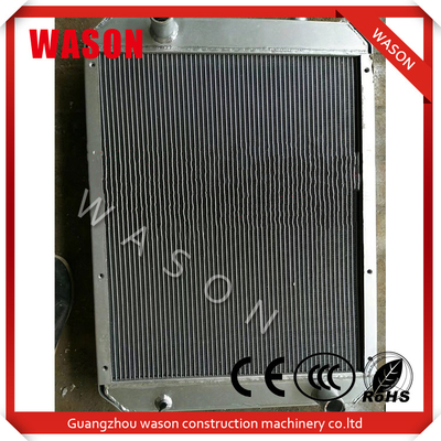 China Excavator Water Cooling Radiator , Hyundai R130-5 Liquid Cooling Radiator distributor