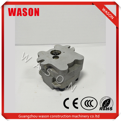 China PC30 Excavator Spare Parts Gear Pump / Polit Pump / Wheel Pump distributor